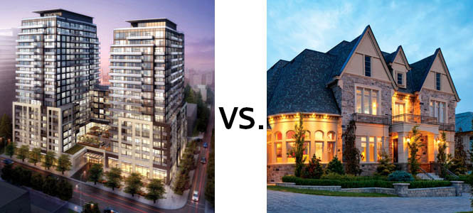 Condo vs Freehold House