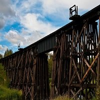 Trestle Bridge - St. Albert Alberta